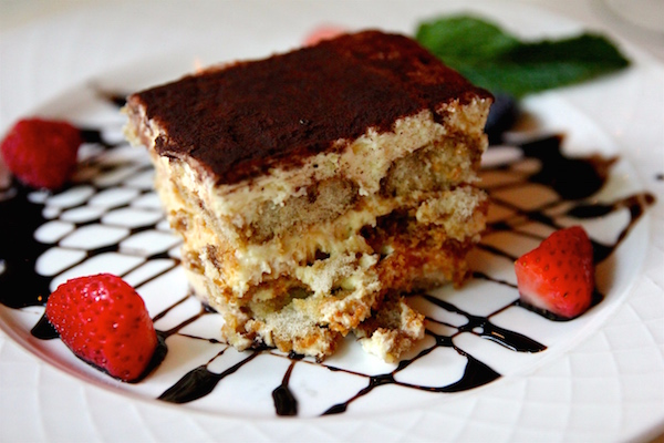 Hidden Gem Tiramisu at La Grotta