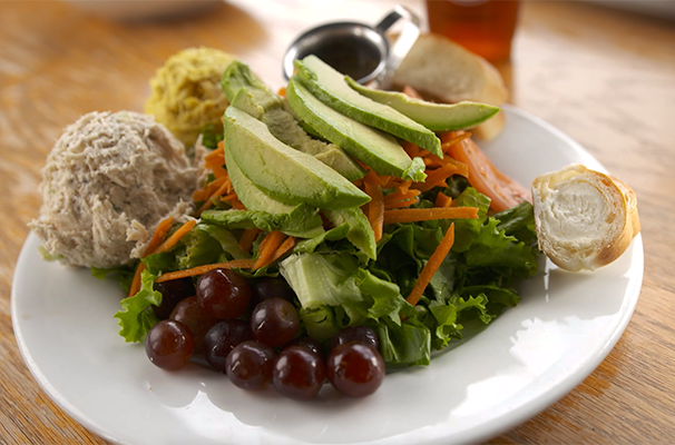 salads from Cafe at Pharr
