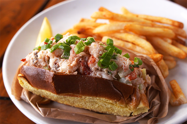 Lobster Roll from Hook Line and Schooner