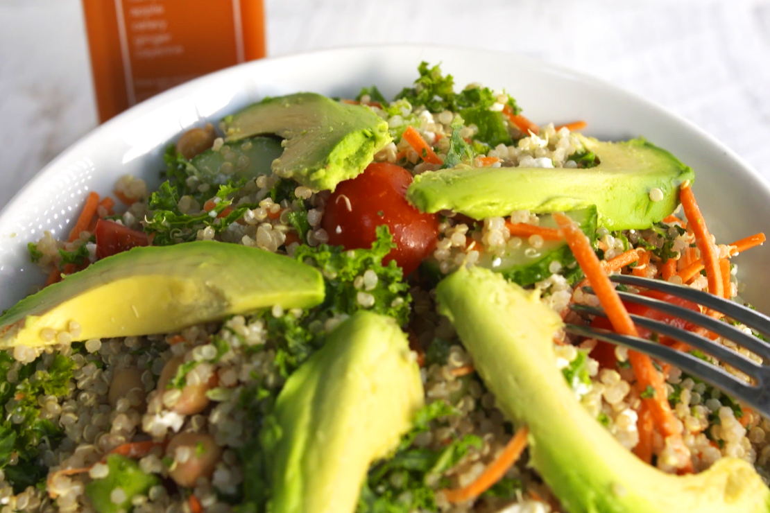 Quinoa Bowl from Kale Me Crazy