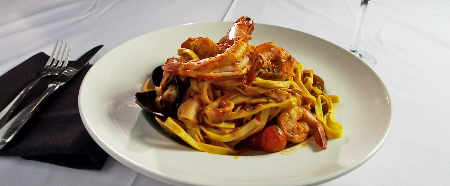 Linguini Frutti di Mare from Pricci.