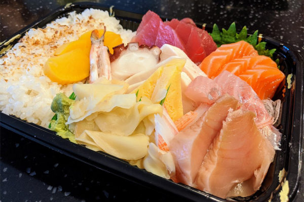 Nova Sushi - Takeout Chirashi Don | Photo: Yelp