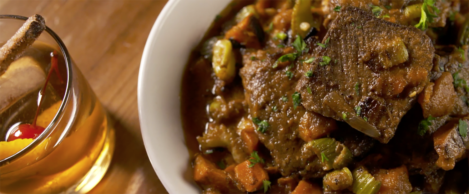 The pot roast from Hob Nob