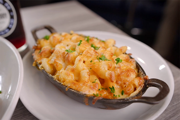 Mac and cheese from Roc South.