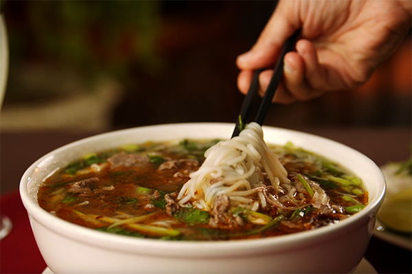 Pho from Nam Phuong on Buford Highway.